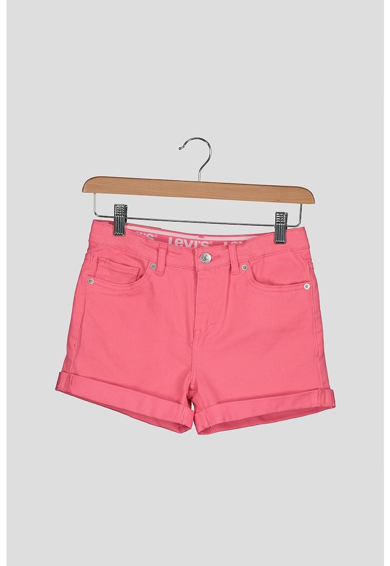 Pantaloni scurti de denim cu terminatii pliabile imagine fashiondays.ro