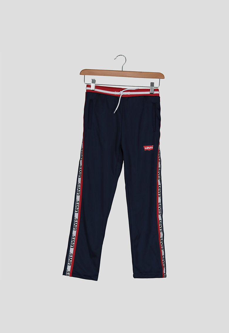 Pantaloni sport cu garnituri contrastante imagine fashiondays.ro
