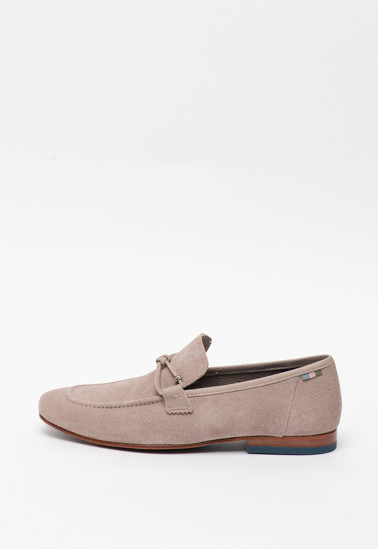 Pantofi loafer de piele intoarsa Crecy