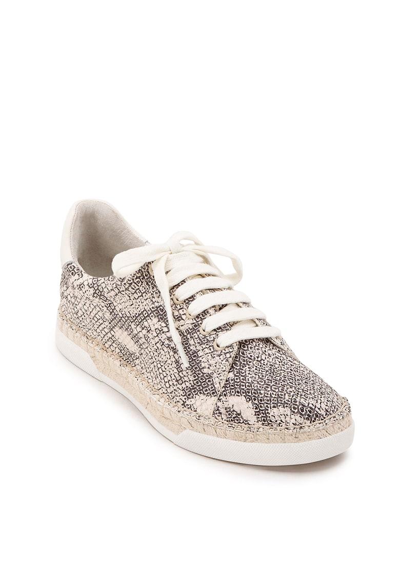 Pantofi sport tip espadrile din piele Madox