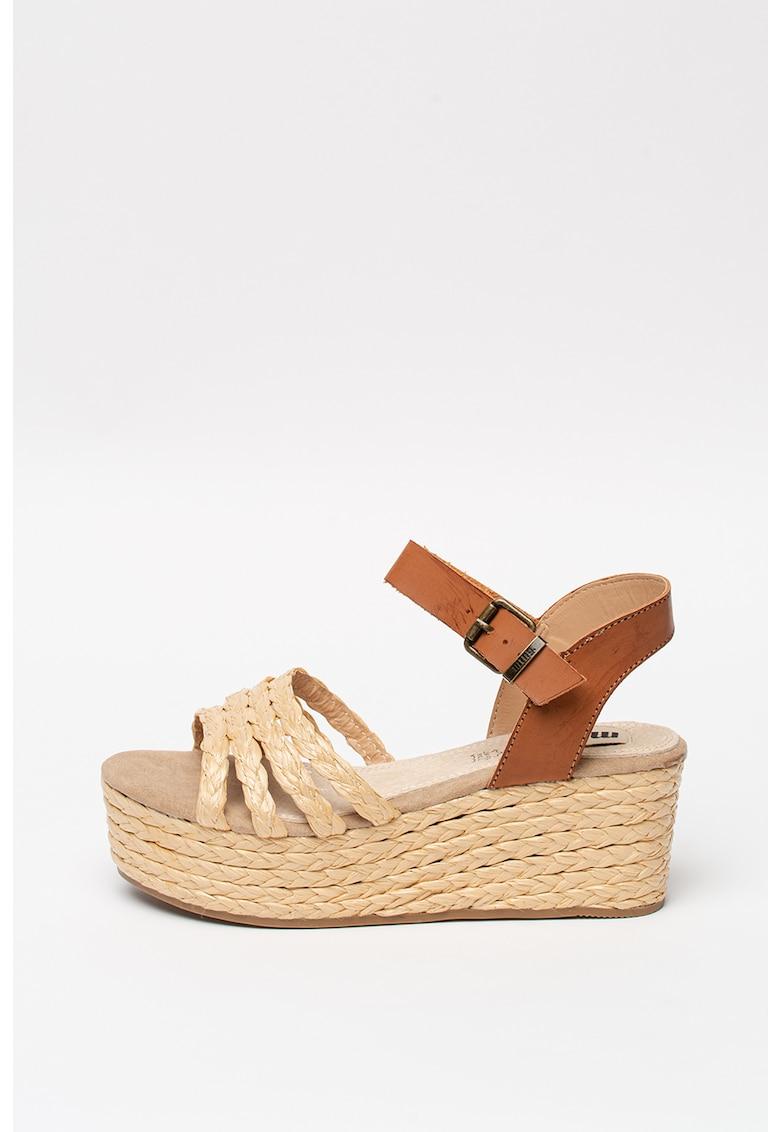 Sandale wedge tip espadrile poza fashiondays