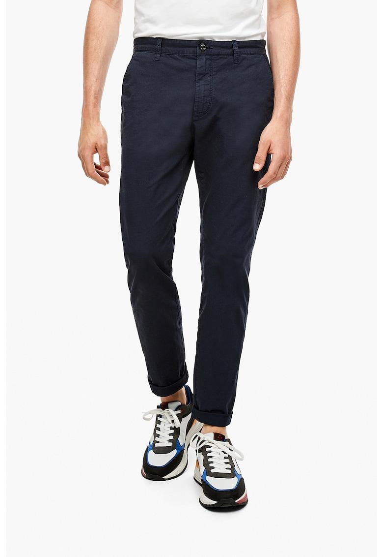 sOliver Pantaloni cu buzunare cu clapa si nasturi