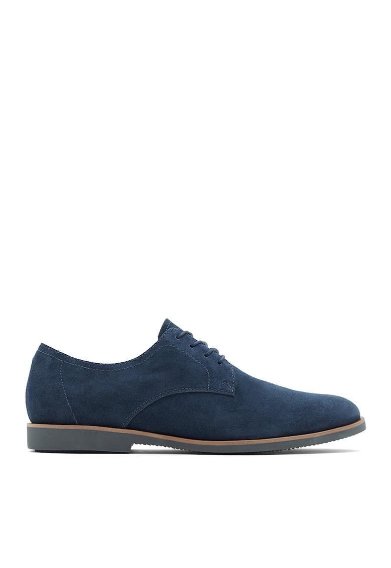 Pantofi de piele intoarsa Dautovo