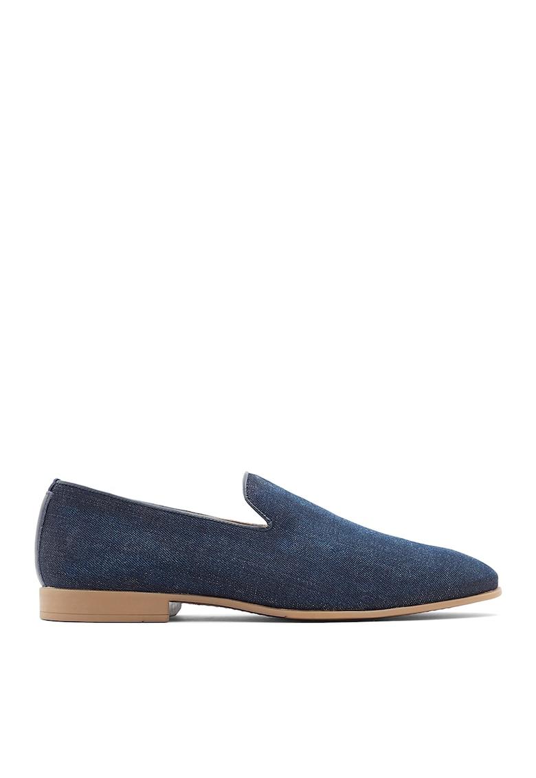 Pantofi loafer cu aspect din denim Tralisien