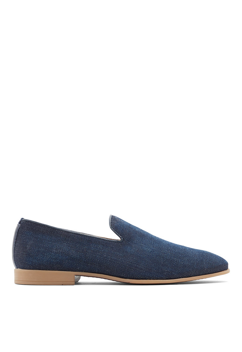 Pantofi loafer cu aspect din denim Tralisien imagine