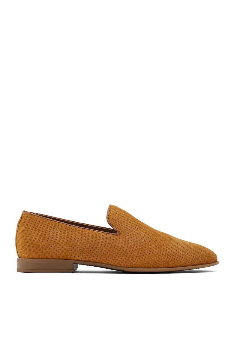 Pantofi loafer de piele intoarsa Tralisien