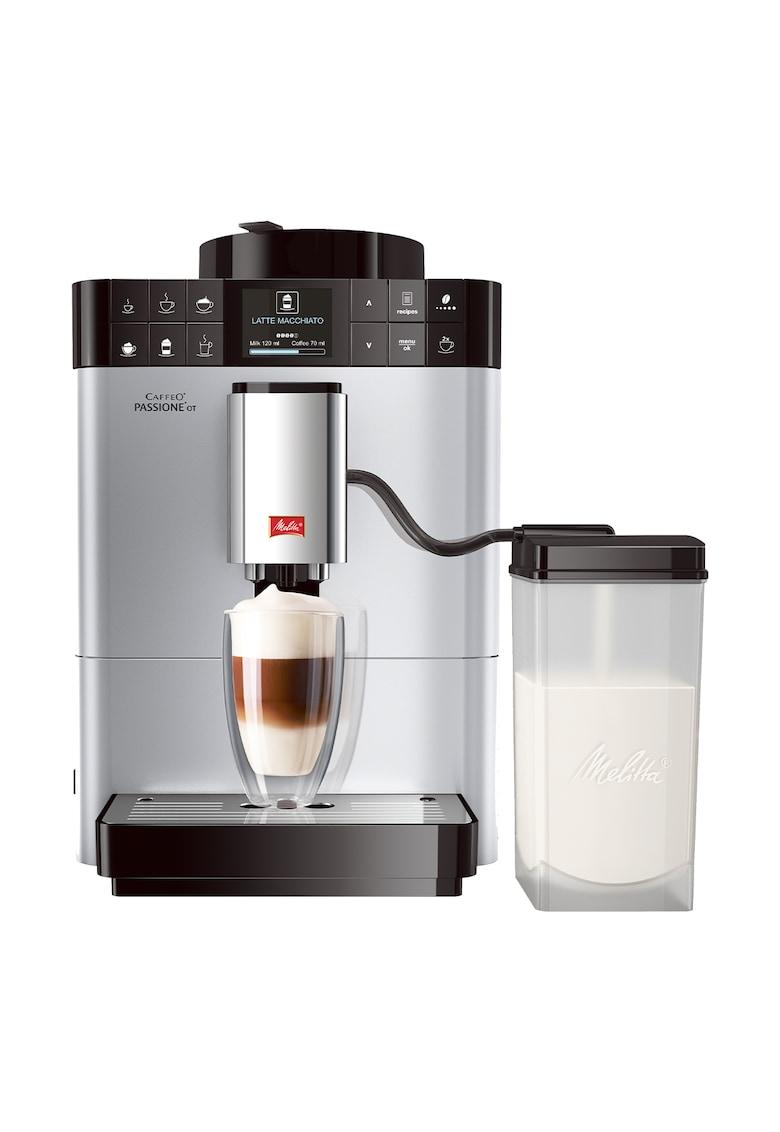 Melitta Espressor Automat ® Passione OT - Sistem de spumare a laptelui One-Touch - 5 niveluri de granulație