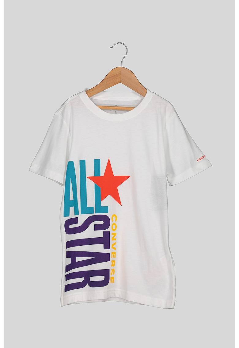Tricou cu imprimeu logo de la Converse