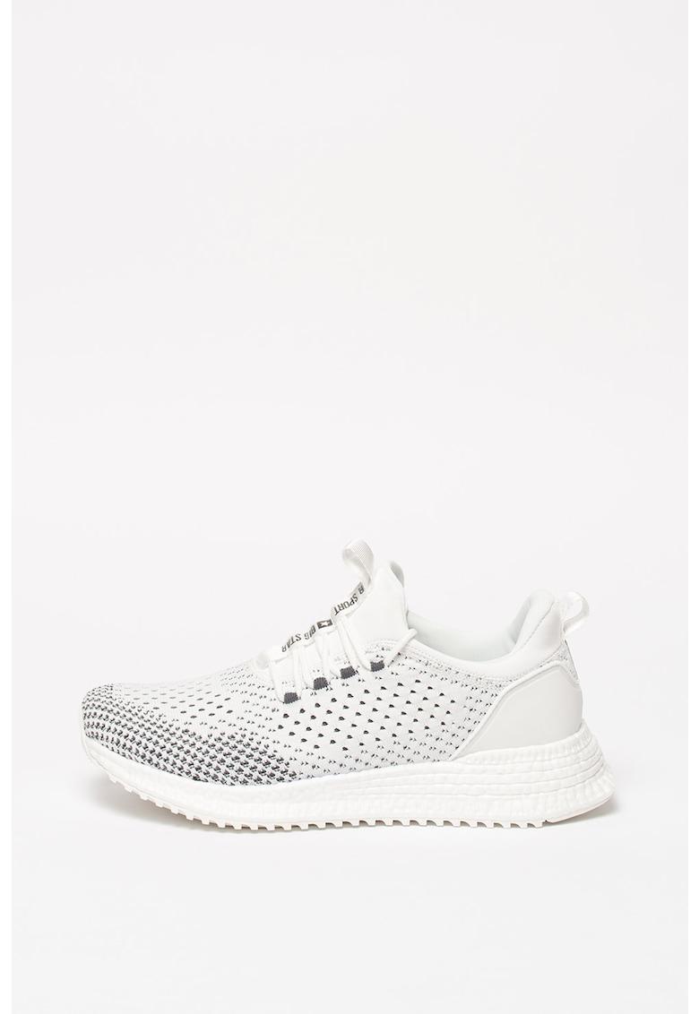 Pantofi sport slip-on din plasa tricotata 1