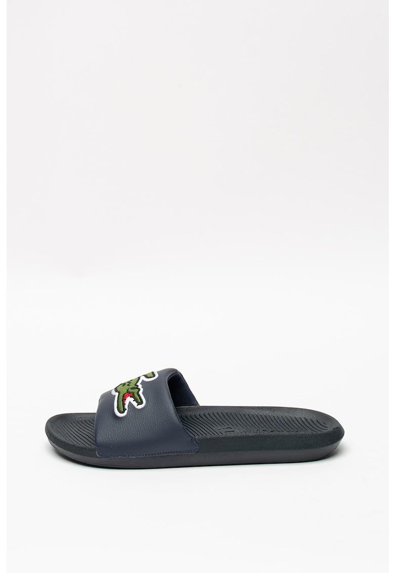 Papuci cu logo Croco
