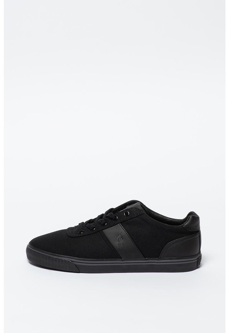 Pantofi sport cu insertii de piele ecologica Hanford