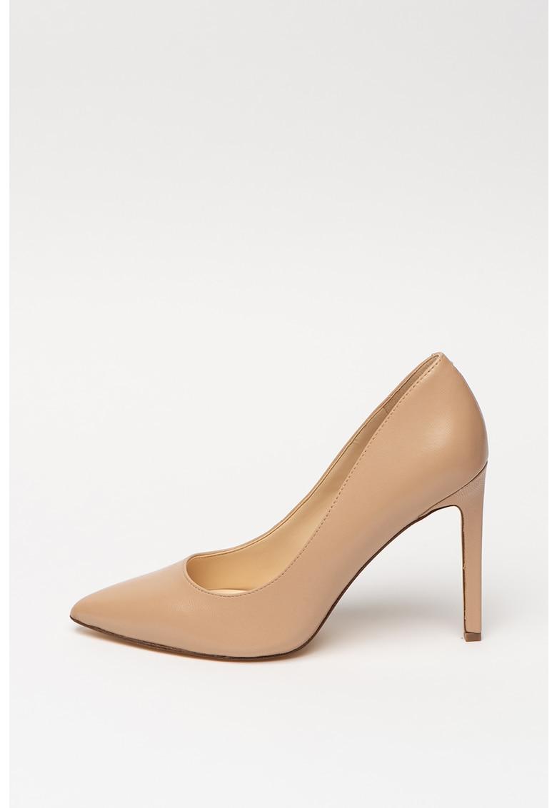 Pantofi stiletto de piele - cu varf ascutit Tatiana de la NINE WEST