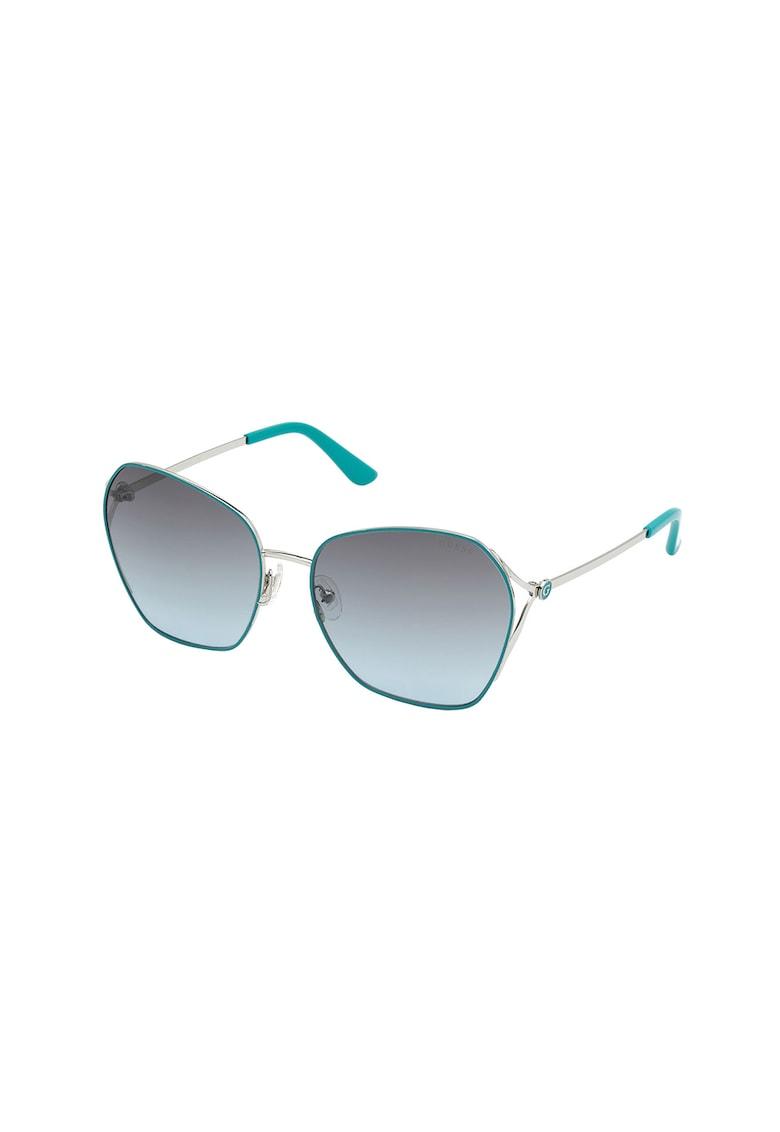Ochelari de soare butterfly cu lentile polarizate imagine fashiondays.ro Guess