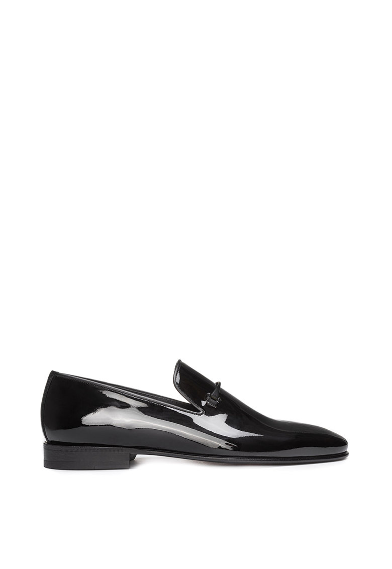 Pantofi loafer din piele lacuita Darrick imagine