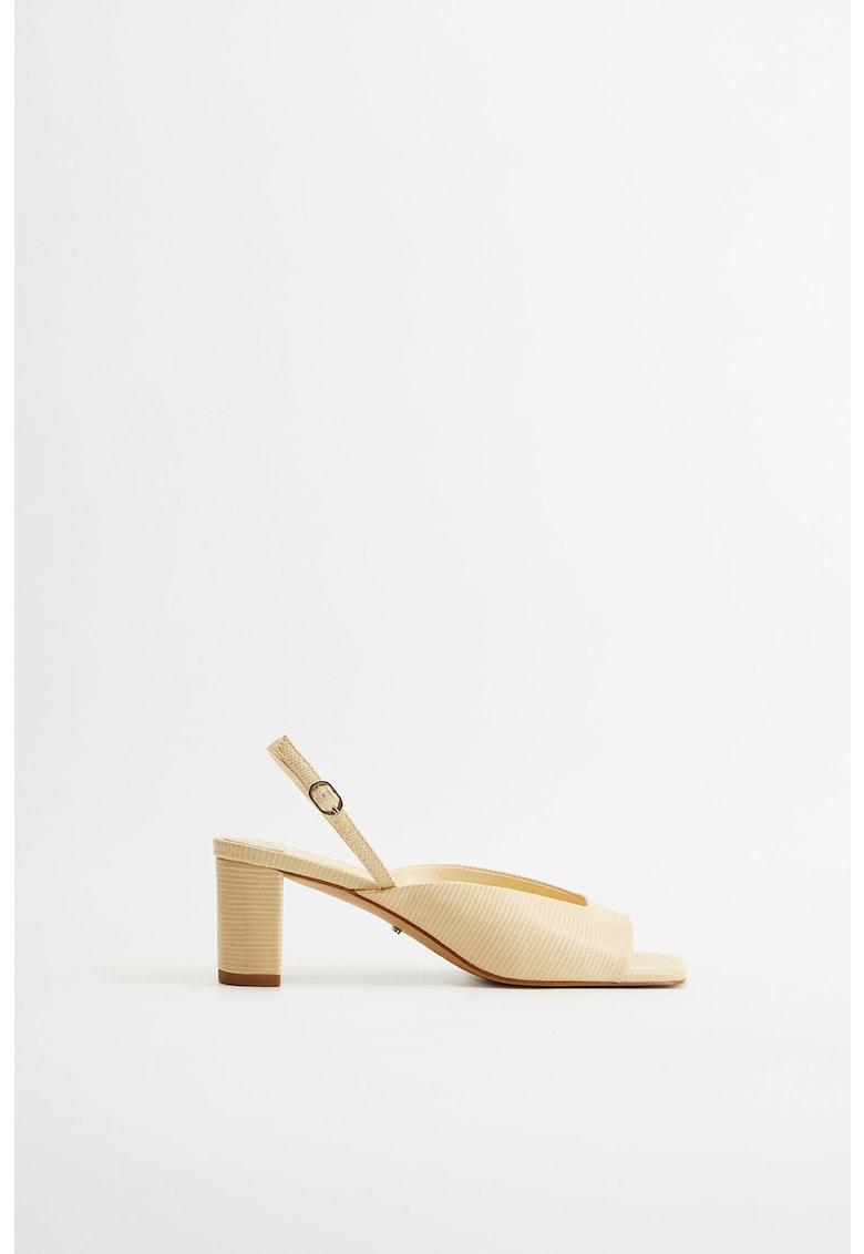 Sandale din piele ecologica Sara imagine fashiondays.ro