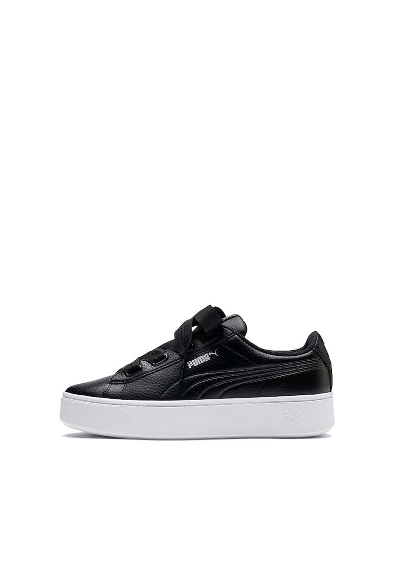 Pantofi sport cu insertii de piele Vikky