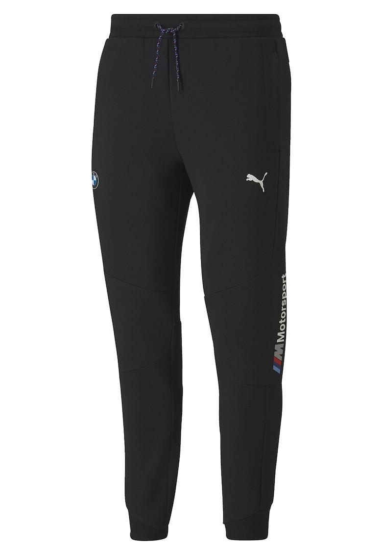 Pantaloni slim fit cu detalii logo Motorsport imagine fashiondays.ro 2021