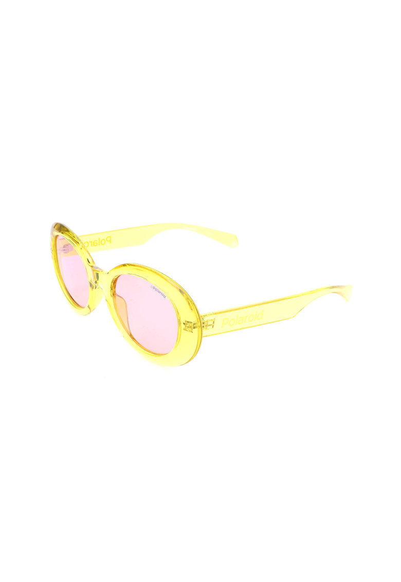 Ochelari de soare ovali - cu lentile polarizate imagine fashiondays.ro Polaroid