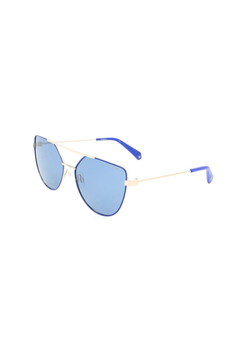 Ochelari de soare aviator - cu lentile polarizate imagine fashiondays.ro Polaroid
