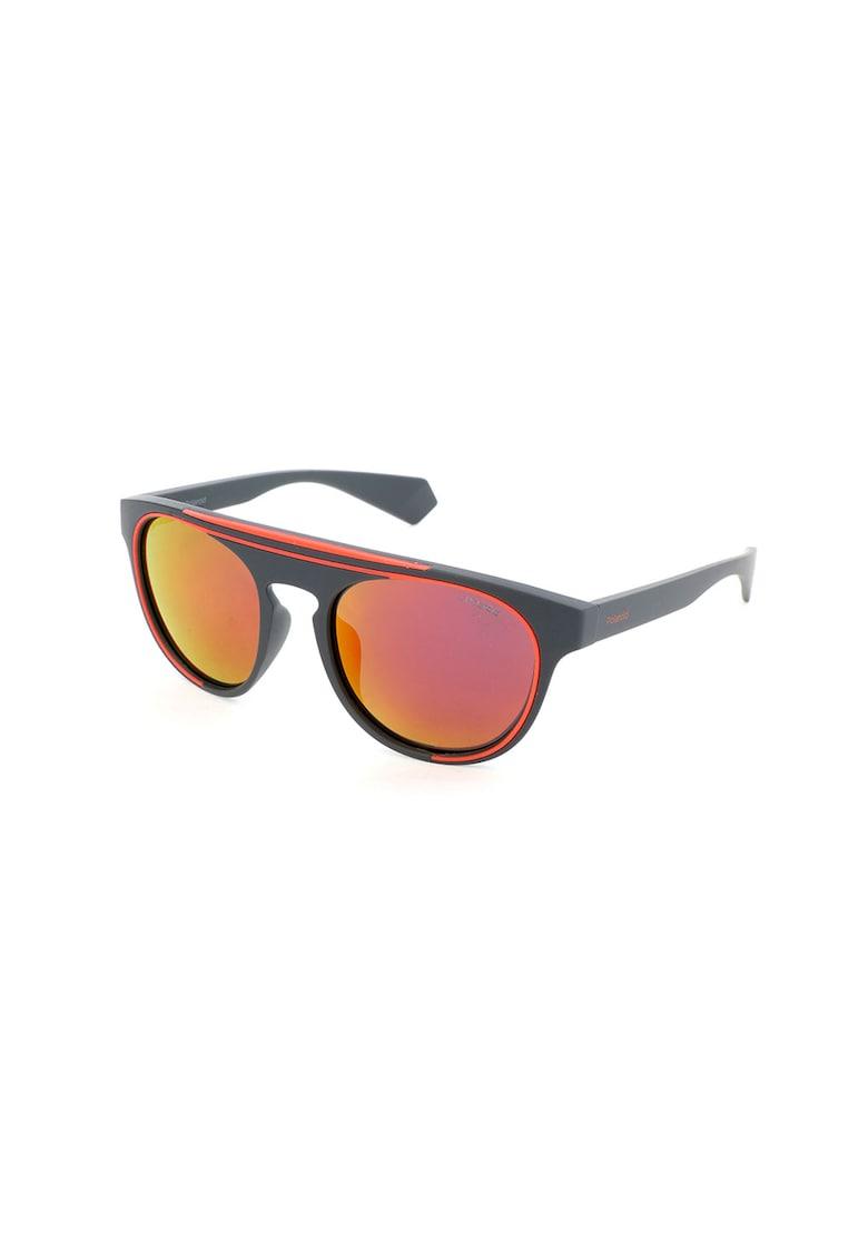 Ochelari de soare aviator unisex cu lentile polarizate imagine