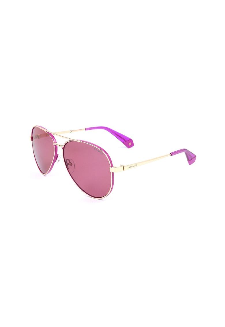Ochelari de soare aviator polarizati imagine fashiondays.ro Polaroid