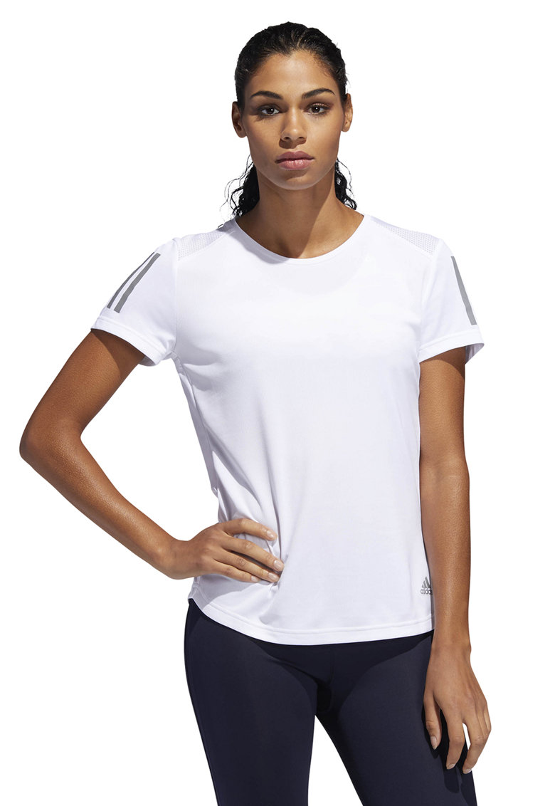 Tricou cu detaliu reflectorizant - pentru alergare