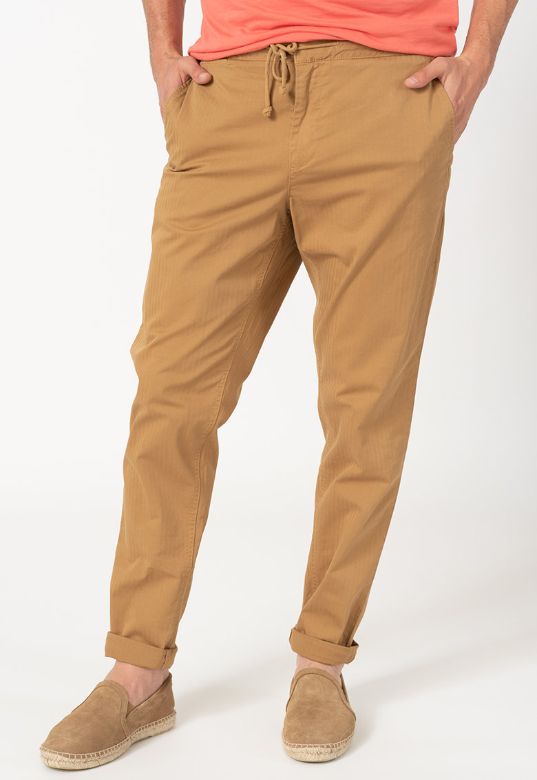 Pantaloni cu talie prevazuta cu snur Keys