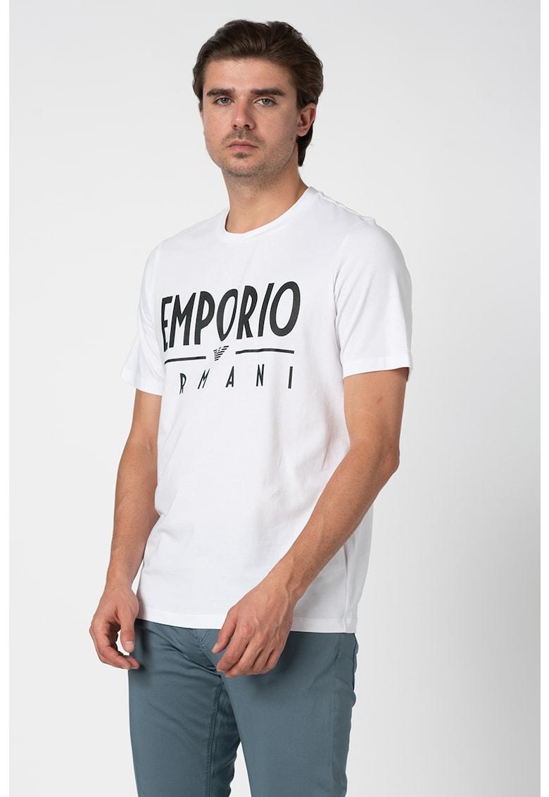 Tricou cu imprimeu logo Bărbați imagine
