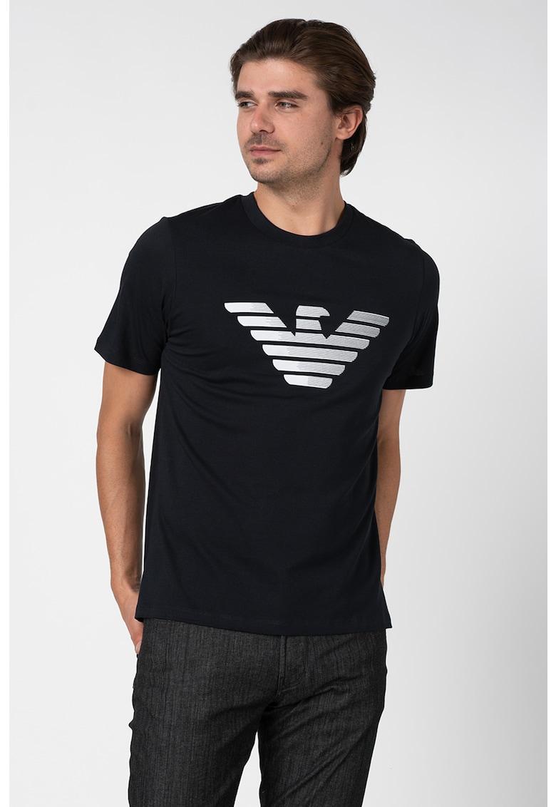 Tricou cu aplicatie logo Bărbați imagine