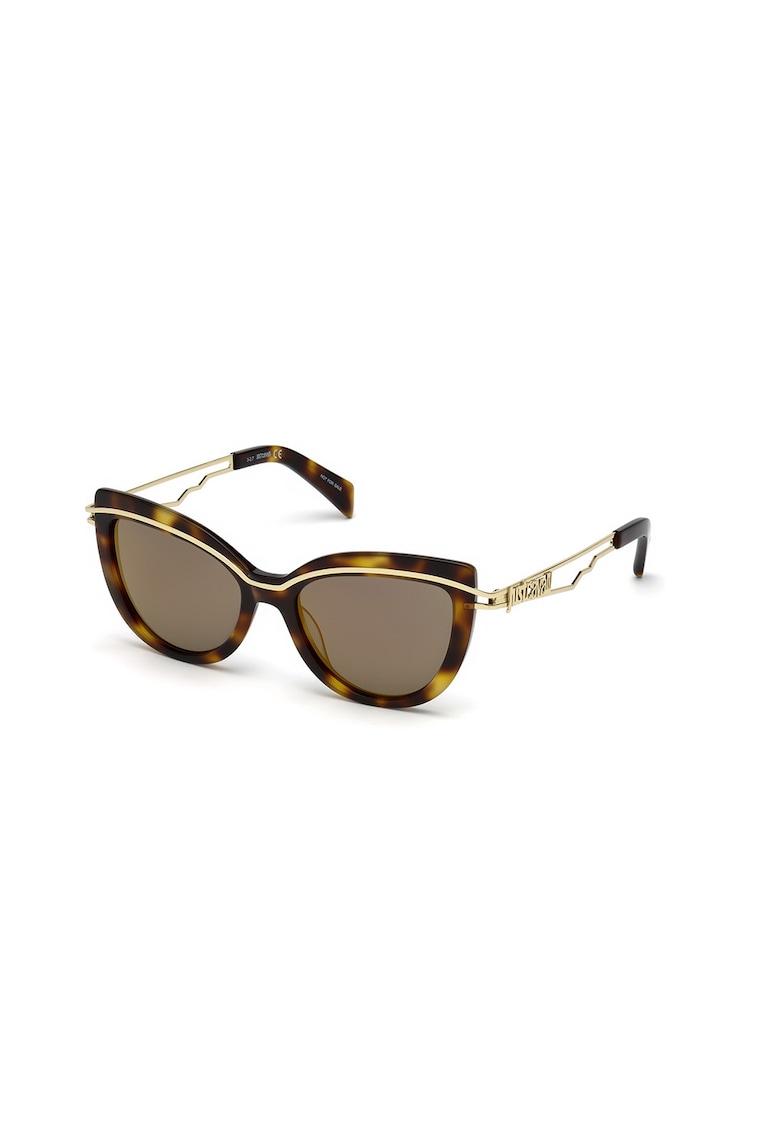 Ochelari de soare cat-eye cu lentile uni imagine fashiondays.ro JUST CAVALLI