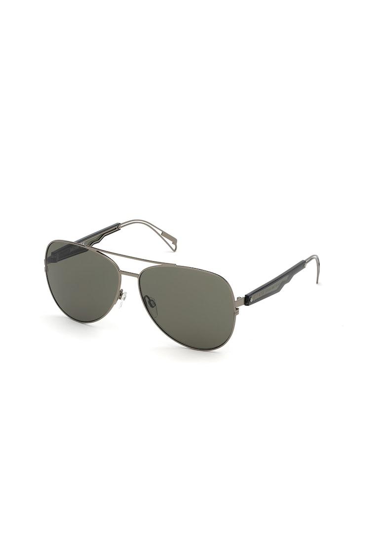 Ochelari de soare aviator unisex - cu lentile uni imagine fashiondays.ro JUST CAVALLI