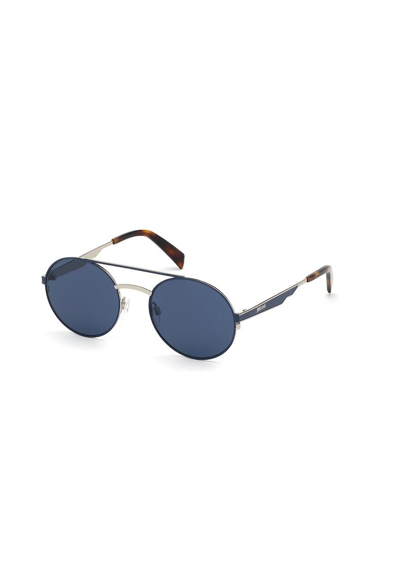 Ochelari de soare rotunzi - unisex - cu rama metalica imagine fashiondays.ro JUST CAVALLI