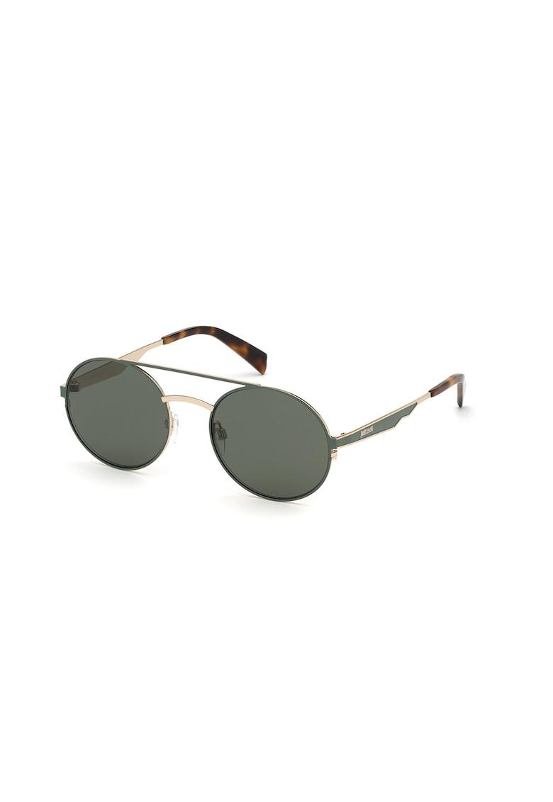 Ochelari de soare rotunzi -unisex - cu rama metalica imagine fashiondays.ro JUST CAVALLI