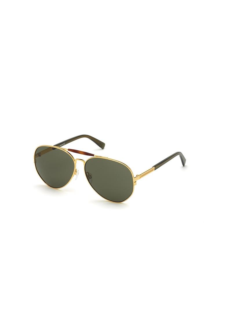 Ochelari de soare aviator unisex imagine fashiondays.ro JUST CAVALLI