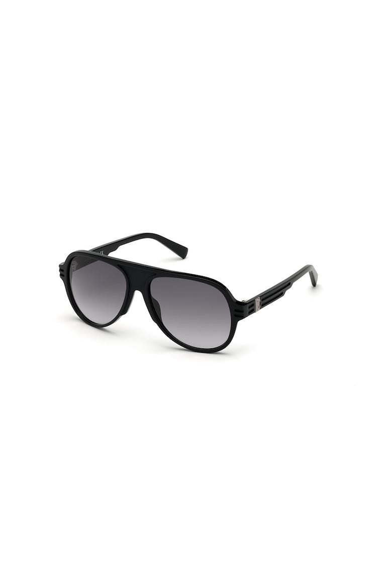 Ochelari de soare pilot unisex cu lentile in degrade imagine fashiondays.ro JUST CAVALLI