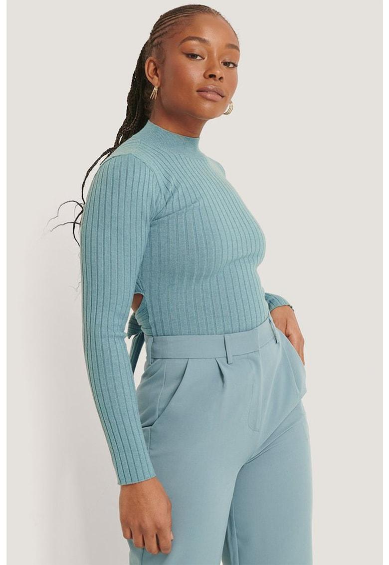 Bluza cu maneci lungi si prindere pe partea din spate NA-KD fashiondays.ro