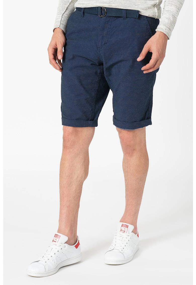 Pantaloni scurti slim fit cu o curea Josh