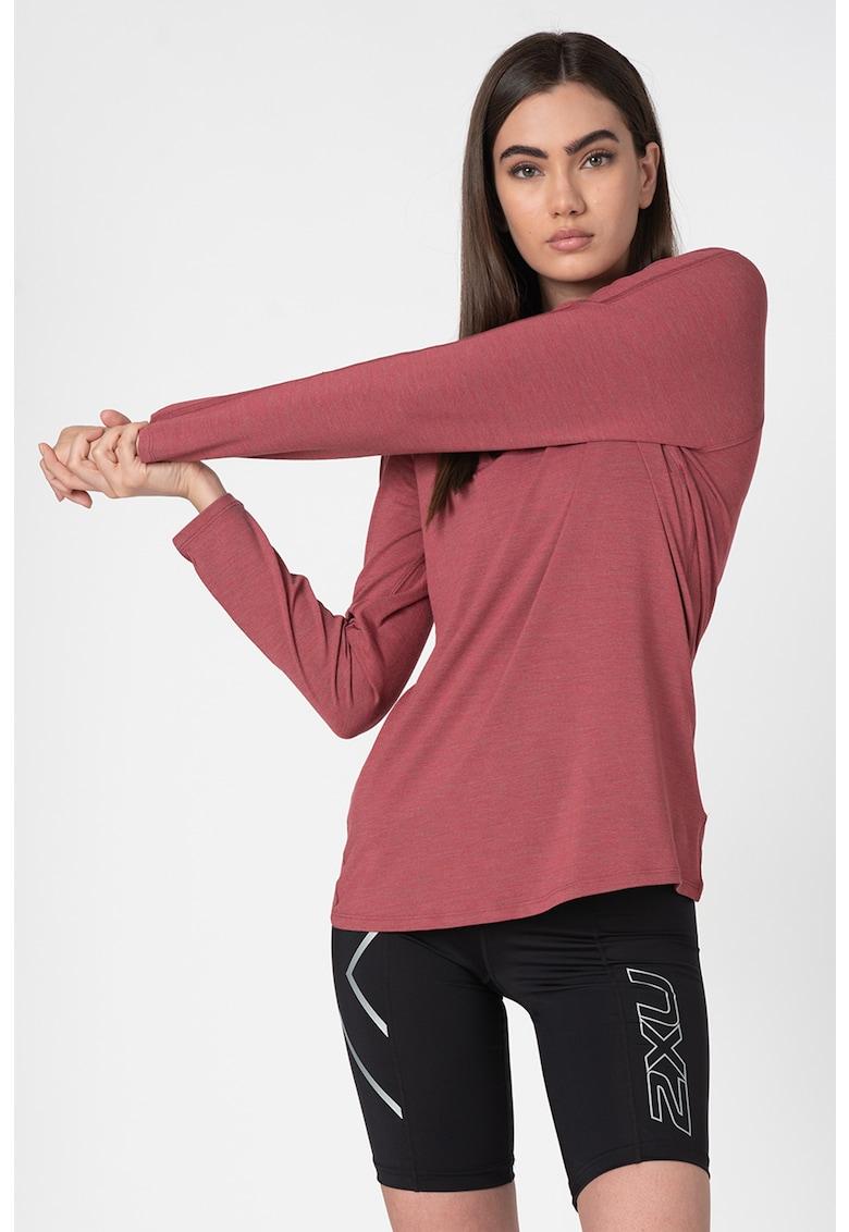 Bluza cu maneci raglan - pentru alergare Alpine Thermal imagine fashiondays.ro