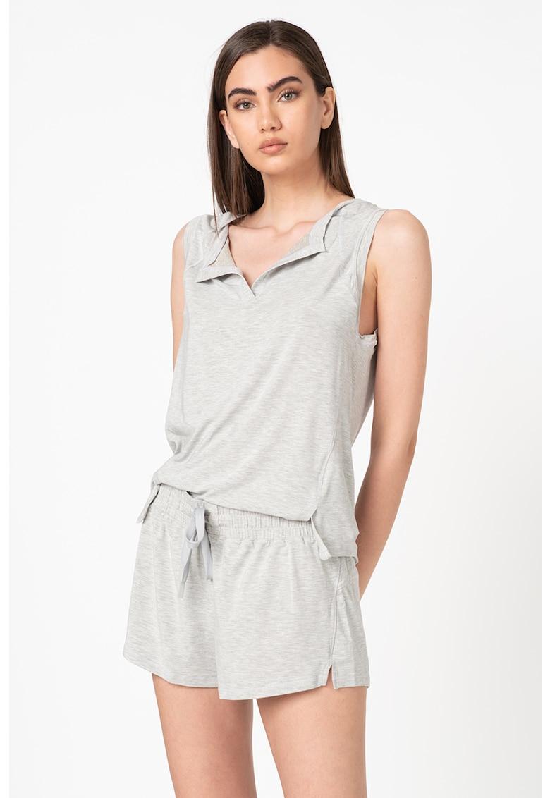 Top de pijama din amestec de modal Recovery poza fashiondays