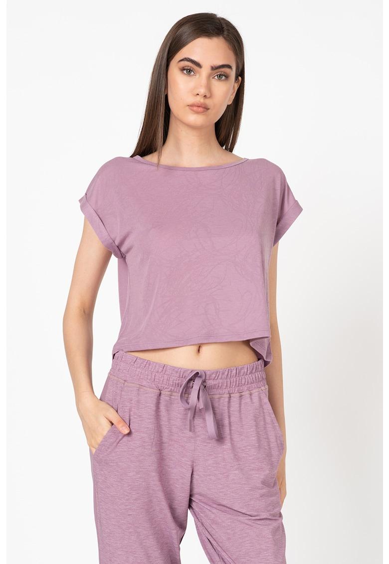 Tricou din amestec de modal - pentru fitness Perpetual