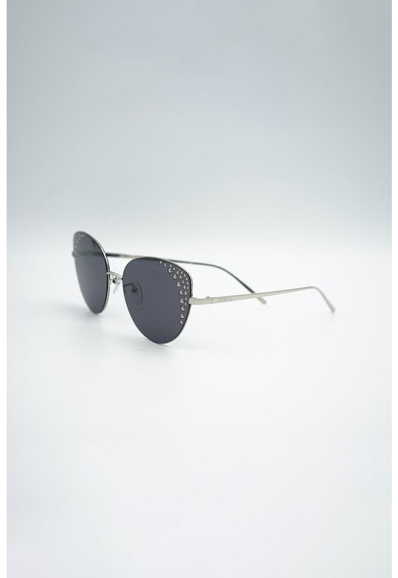 Ochelari de soare cat-eye polarizati - cu rama metalica imagine fashiondays.ro Furla