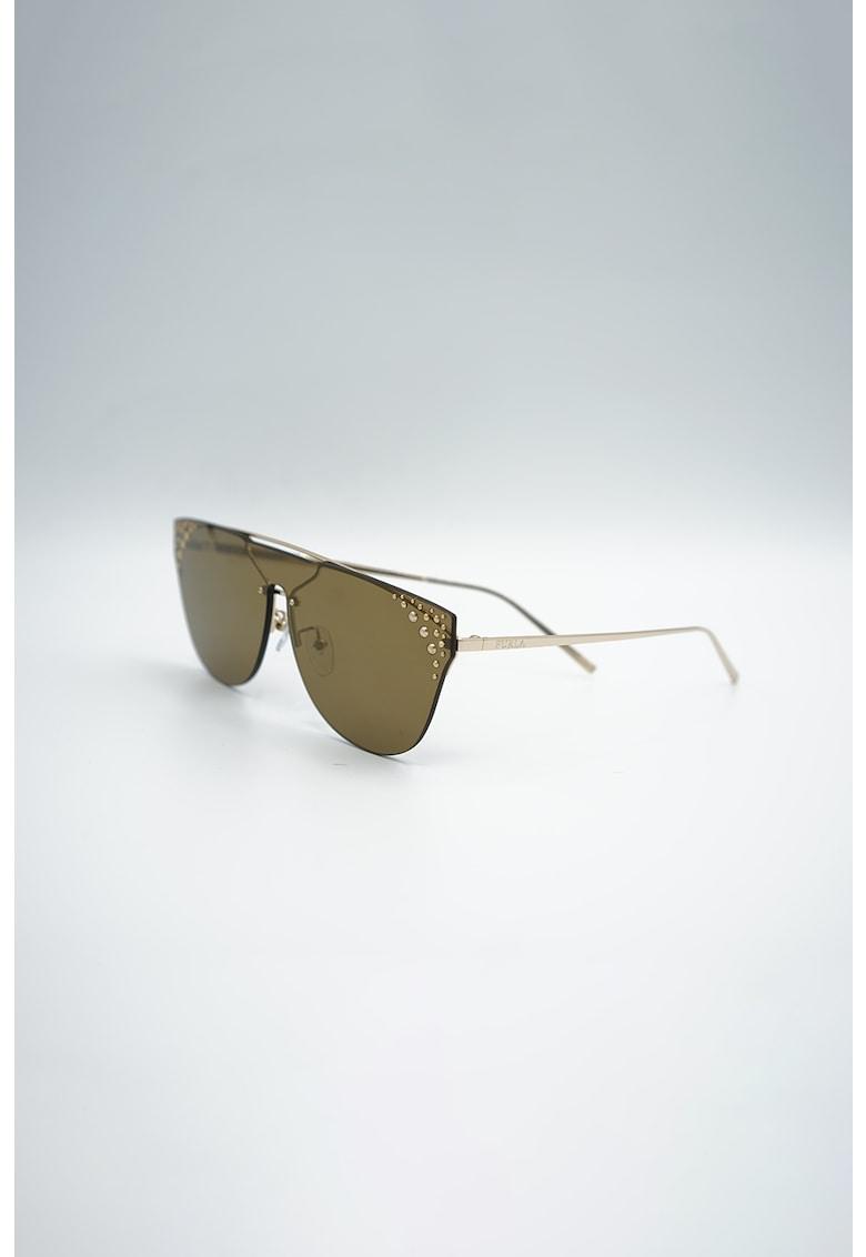 Ochelari de soare shield cu lentile polarizate imagine fashiondays.ro Furla