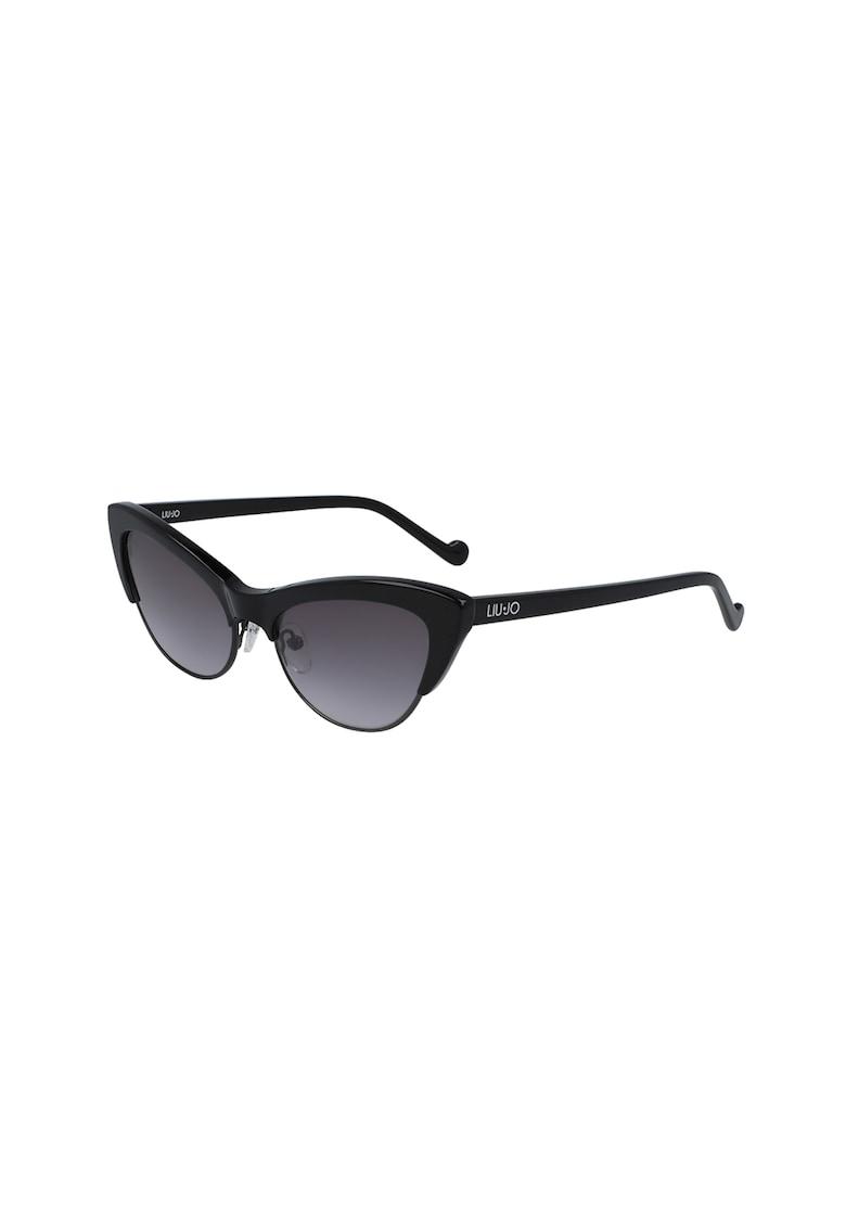 Ochelari de soare cat-eye cu lentile uni imagine fashiondays.ro