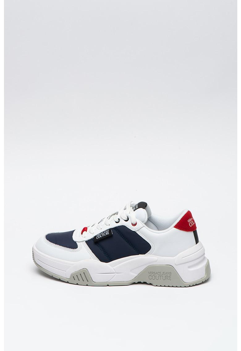 Pantofi sport cu insertii de piele Fire