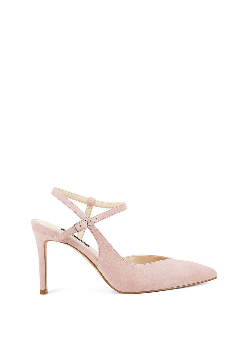 Pantofi de piele - cu varf asscutit Elisa fashiondays.ro