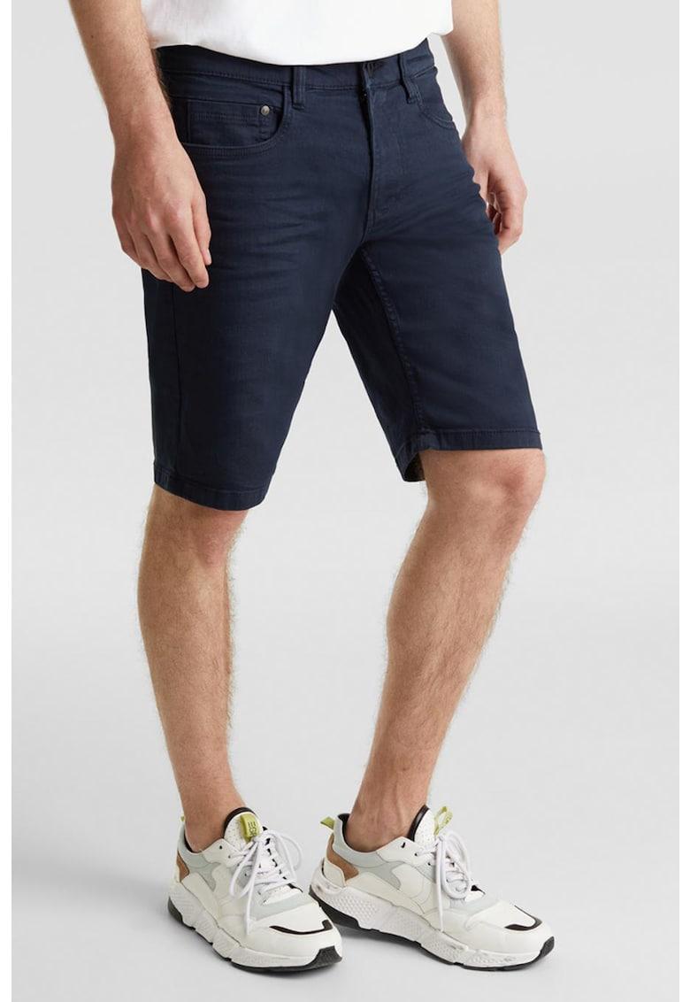Pantaloni scurti slim fit din denim