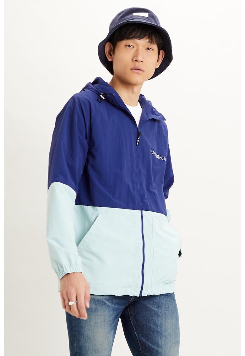 Jacheta cu detaliu cu imprimeu logo