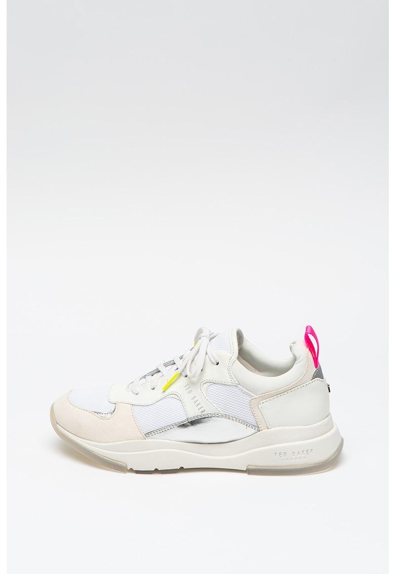Pantofi sport cu insertie de plasa Winnslo