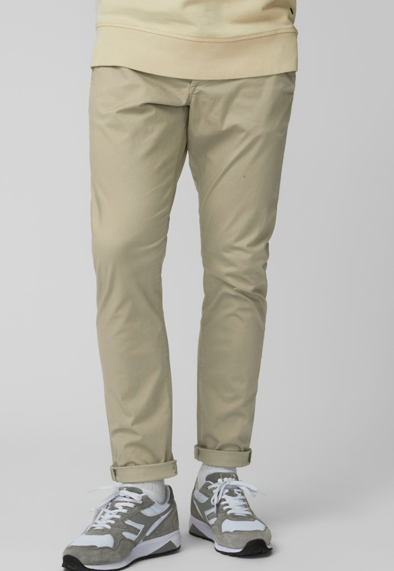 Pantaloni chino din bumbac organic imagine