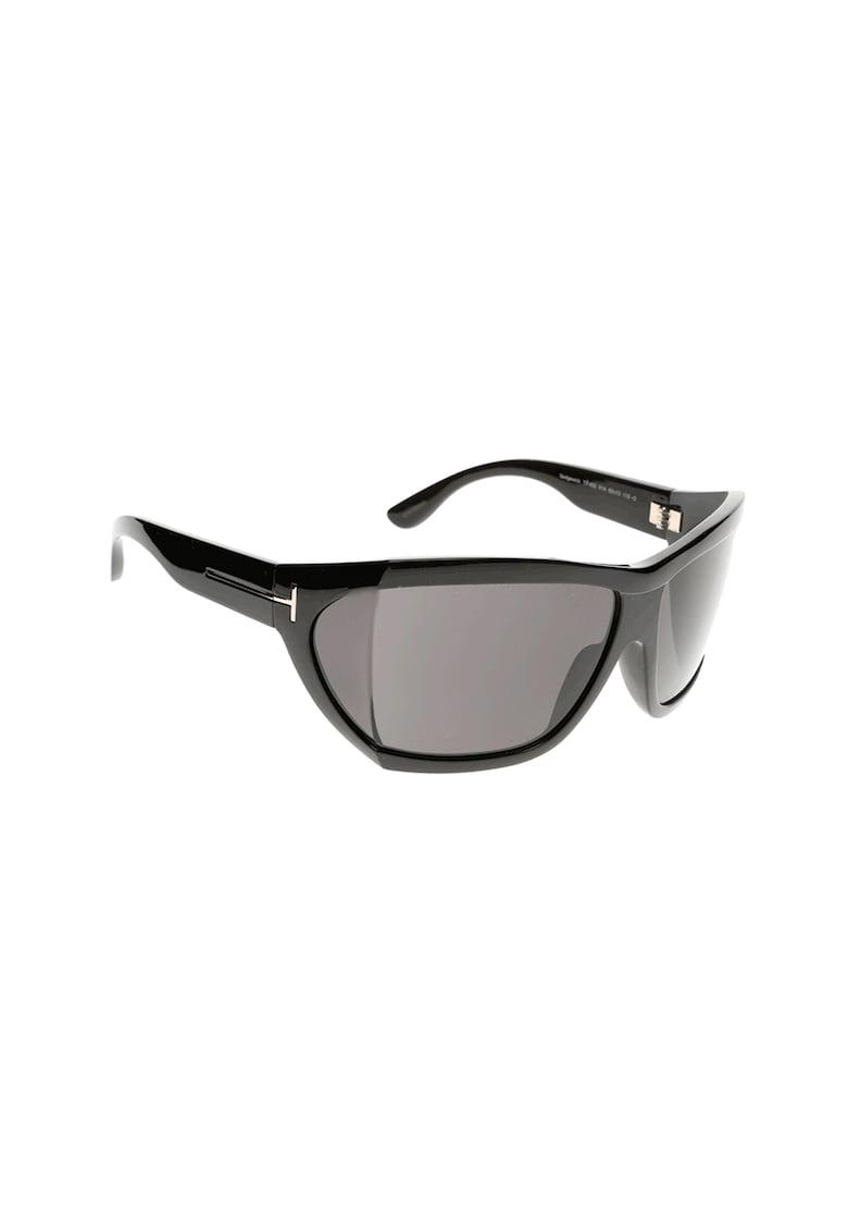 Ochelari de soare wrap unisex cu logo imagine fashiondays.ro Tom Ford